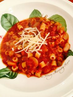U201c16 Beanu201d Pasta E Fagioli Is From Ina Gartenu0027s Cookbook, Cooking For Jeffery