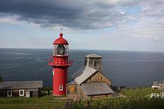Pointe-à-la-Renommée lighthouse [1880 - Saint-Yvon, Québec, Canada]