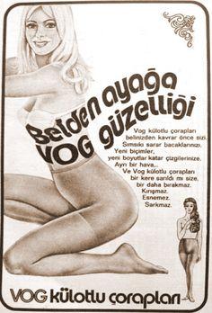 Vog külotlu çorapları 1972.
