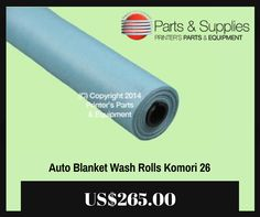 Printers Parts & Equipment Parts and Supplies store also known as Shop.Printers Parts collects wide range of Auto Blanket Wash Rolls Komori 26 Offset Printing Machine Supply at our web store. You can buy Auto Blanket Wash Rolls Komori 26 Offset Printing Machine Supply at an affordable price rate. For more information kindly call us @ (416) 752-4488 / 1-800-268-6577 OR mail us @ parts@printersparts.com