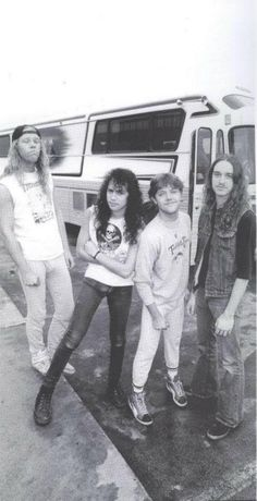 Metallica.  Ahh, look at Lars.  He's so cute.