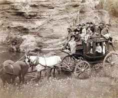 Stagecoach Old West