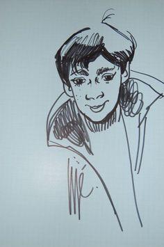 Jijé (Joseph Gillain) - Original Drawing - W.B.