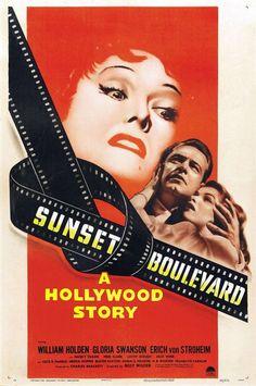 Sunset Boulevard. Un clasico del cine sobre el cine.