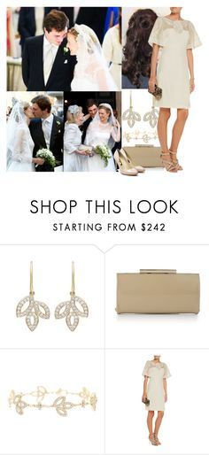 """""""Attending the wedding of Prince Amedeo of Belgium and Elisabetta Rosboch von Wolkenstein in Rome, Italy"""" by maryofscotland ❤ liked on Polyvore featuring Harry Winston, L.K.Bennett, Mikael Aghal and Rupert Sanderson"""