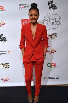 who is this? love the suit. edited: Karrueche Tran
