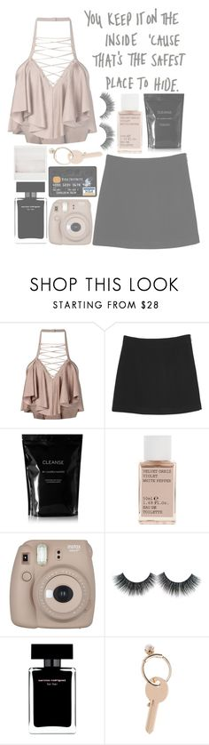 """""""  Loyalty  """" by justtypical ❤ liked on Polyvore featuring Balmain, Monki, Cleanse by Lauren Napier, Korres, Fujifilm, Narciso Rodriguez and Maison Margiela"""