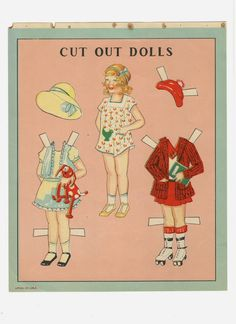 Paper dolls from round the World - Ulla Dahlstedt - Picasa Webalbum