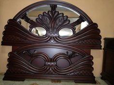 Woodworking Bed, Wooden Bed Design, Door Design Wood, Bed Furniture Design, Beautiful Bedroom Furniture, Wood Carving Furniture, Wood Furniture Design, Bedroom Cupboard Designs, Modern Bedroom Decor