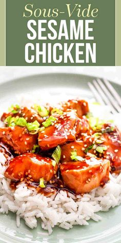 If you love take-out Sesame Chicken then you ve got to try this sous vide version The chicken stays tender and juicy plus there s no need to deep-fry A quick toss with a spicy sauce brings it all together sesamechicken sousvide simplyrecipes chicken Crockpot Recipes, Chicken Recipes, Cooking Recipes, Sous Vide Chicken Recipe, Sous Vide Chicken Thighs, Keto Chicken, Asian Recipes, Ethnic Recipes, Oriental Recipes