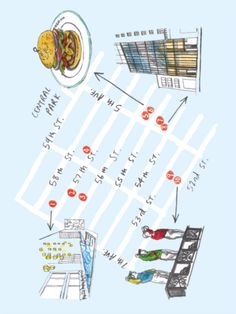 A Map of the Best of Midtown Manhattan