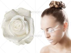 the floral makeup, she is turned of three quarters ...  adult, attractive, beautiful, beauty, blond, blossom, bright, caucasian, charm, cheerful, close-up, closeup, coiffure, color, cosmetic, cute, elegant, expression, face, fashion, female, femininity, floral, flower, girl, gorgeous, graceful, hair, head, lady, looking, lovely, make-up, makeup, nice, petals, portrait, sensual, sensuality, sexy, style, stylish, sunflower, vitality, vogue, white, woman, yellow, young