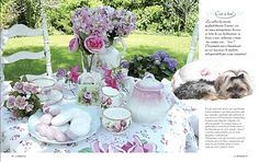 tea party from vintagerosecollection