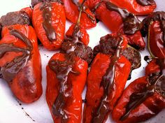 Chocolate Stuffed Chillies by @Choclette