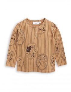 Fox Family Grandpa Top - BROWN – Winnie & B.