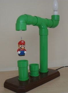 mario brothers pipe lamp | 559px