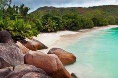 Anse Lazio #Beach,  Reispot 100% gratis vakantie loterij. Speel elke week gratis mee op reispot en maak kans op gratis vakantie + extra prijzen. www.reispot.nl