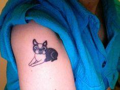 Boston Terrier Tattoo
