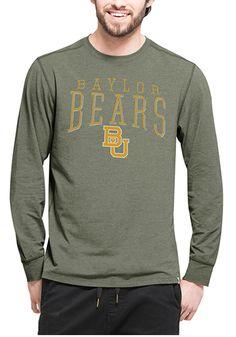 Baylor Bears Mens Green Long Sleeve T Shirt
