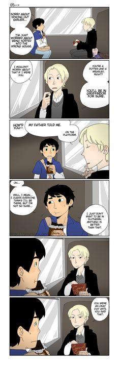 HP: That's not okay, OK? by ryounkura.deviantart.com on @deviantART