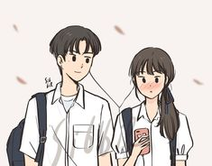 You're my favorite song 🎶❤️ Cute Couple Drawings, Cute Couple Art, Anime Love Couple, Couple Cartoon, Cute Anime Couples, Cute Drawings, Cute Art Styles, Cartoon Art Styles, Couple Illustration