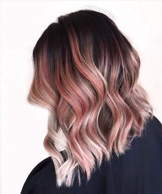 It's All About Gorgeous Rose Gold Hair! See 10 Ways To Carry The Colour 3