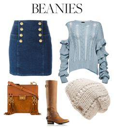 """""""Untitled #115"""" by wallan on Polyvore featuring Balmain, SOREL, Magda Butrym, The North Face and Chloé"""
