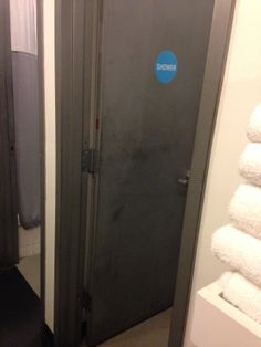bathroom / shower door idea