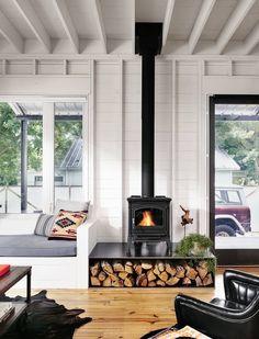 vintage fireplace majestic malm preway retro 60s 70s