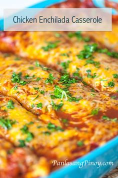 Your meal can be more interesting when you have Chicken Enchilada Casserole. This recipe will show you how it's done in the simplest way possible.