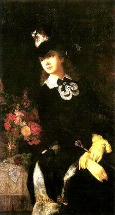 Empress Elisabeth of Austria by Benczur Guyla | melancholykaiserin:Empress Elisabeth of Austria.