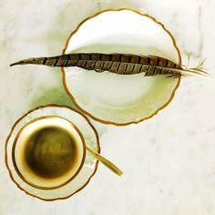 Vintage - kaffekopp och assiett med anor http://www.dukat.se/product/vintage-16