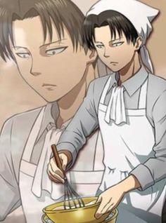 """I'll take the chefs choice."" || attack on titan || Shingeki no Kyojin || AOT || SNK || Levi Ackerman || Heichou || Rivaille || Levi cleaning || anime"