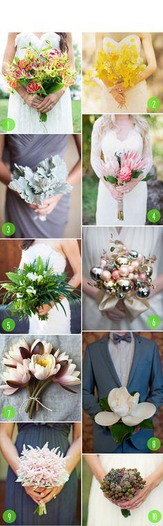Top 10: Textural bouquets