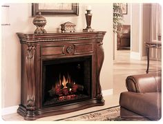 42 inch corner cherry fireplace 400 00 20 off furniture