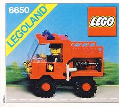 6650-1: Fire and Rescue Van | Brickset: LEGO set guide and database
