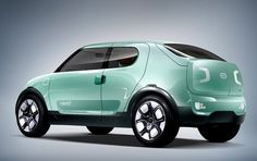 Kia Naimo EV concept car. very cool looking! :D