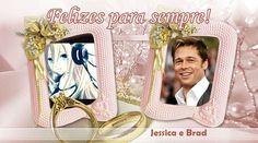 Jessica & Brad Pitt