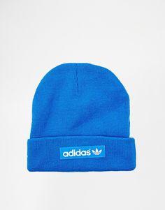 Shop adidas Originals Logo Beanie Hat at ASOS. 4ed55443a860