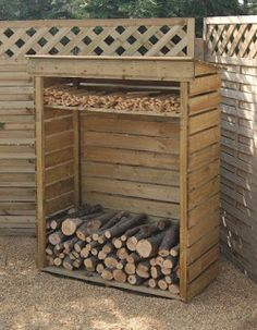 Firewood Bin Made From Pallets