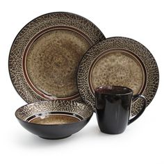 American Atelier Markham Round 16-piece Dinner Set Service for Four
