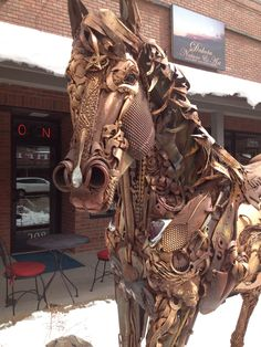 John Lopez sculpture. Hill City, SD I saw these this summer! LOVE THEM