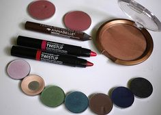 Canadian Brands: Annabelle Cosmetics #shadow #bronzer #twistup