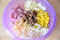z cukrem pudrem: Wielkanocna sałatka teściowej Cobb Salad, Grains, Rice, Cooking, Recipes, Food, Amanda, Kitchen, Essen