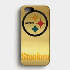 Pittsburgh Steelers Nfl Logo iPhone SE Case its a Case, a protective yet stylish shield between your phone and accidental bumps, drops, . Iphone Logo, Iphone Se, Nfl Logo, Iphone 7 Cases, Pittsburgh Steelers