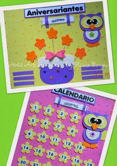 Esse material foi enviado para as professoras Márcia Guarnieri (SP) e para a tia Flávia, minha xará (Belo Horizonte). ... Kids Crafts, Crafts To Make, Birthday Charts, Kids Education, Ideas Para, Safari, Preschool, Classroom, Kids Rugs