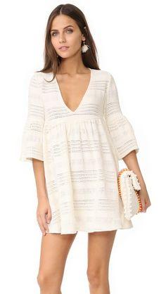 Mara Hoffman Cover Up Mini Dress | SHOPBOP