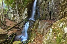 A much better shot of Baskins Creek Falls in Great Smoky Mountains National Park.  Still doesn't give the full sense of how secluded this spot really is, though.