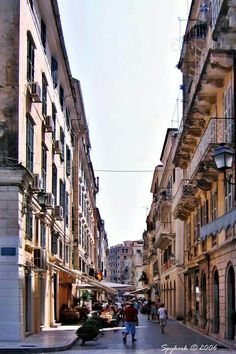 Korfu The Places Youll Go, Places To See, Beautiful Islands, Beautiful Places, Corfu Island, Corfu Greece, Famous Places, Greek Islands, Places To Travel