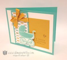 Stampin up stamping stamp it demonstrator blog baby cards idea something for to say baby's first framelits